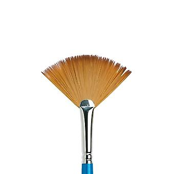 Winsor & Newton Series 888 Cotman Water Colour Fan Brush #6 (Long Handle)