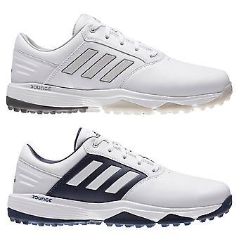 adidas Golf Mens 2020 359 Bounce SL Leder waterdichte winddichte wijde golfschoenen