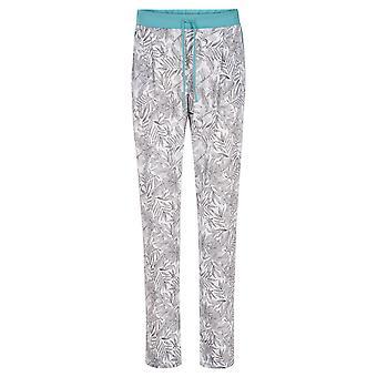 Rösch 1203219-15642 Women's Pure Fineliner White Floral Pyjama Pant