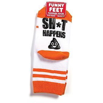 Happy feet socks - poop happens