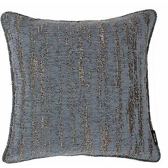 Mcalister textiles texturado chenille denim cojín azul