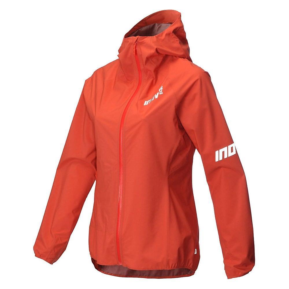 Inov8 At/c Stormshell Full Zip Womens Fully Waterproof Running Jacket Coral