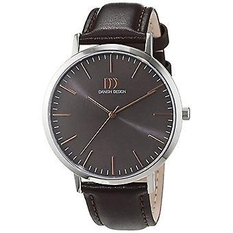 Reloj de pulsera de cuarzo para hombre-cuero de diseño danés 3314516