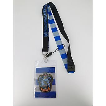 Lanyard - Harry Potter - Ravenclaw w/Card Holder New 48543