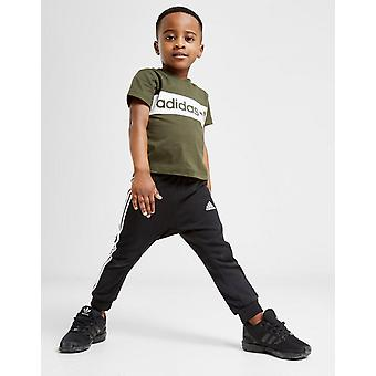 New adidas Originals Boys' Colour Block T-Shirt Green