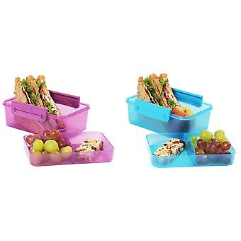 Clic-Tite Double Decker Sandwich/Snack Box