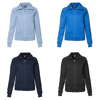 ID Womens/Ladies Regular Fitting Full Zip Sweatshirt