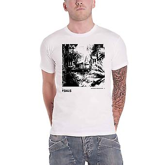 Foals T Shirt Everything Not Saved Will Be Lost Underplay Official Mens White