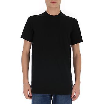 Rick Owens Ru19f4264ja09 Men's Black Cotton T-shirt