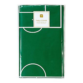 Fotballparty Champions Bord Cover Grønn Footie Pitch Papir Cover