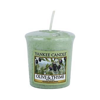 Yankee Candle Votive Sampler Oliv och timjan