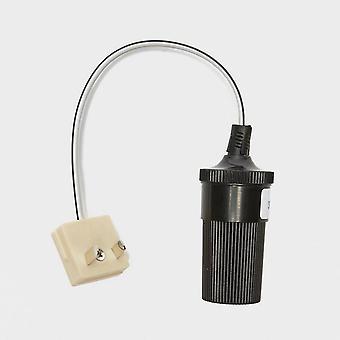 New W4 Adapt It 12v Cigar Socket to W4 Type 2-Pin Plug Black