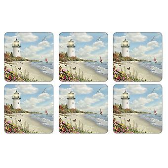 Pimpernel Ray of Hope Coasters, Set of 6