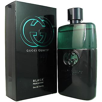 Gucci culpado preto para homens 3.0 oz eau de spray de toilette