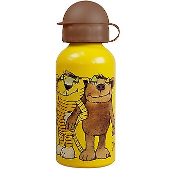 JANOSCH Children's aluminium water bottle yellow 400 ml