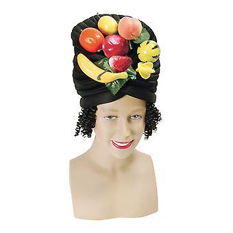 Bristol Novità Unisex Adulti Cappello di Frutta E Capelli