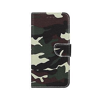 FONU Boekmodel Hoesje Camoprint Huawei P30