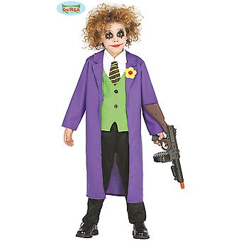 Dziecięce stroje karnawalowe Joker kostium dla dzieci