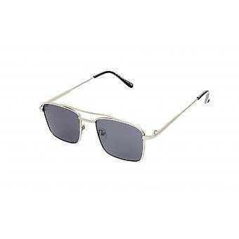 Sonnenbrillen Männer rechteckig gold/blau (20-142)
