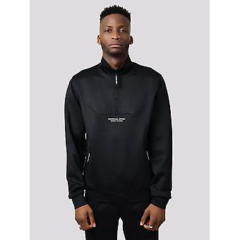 Marshall Artist Poly Cadence Track Top - Black