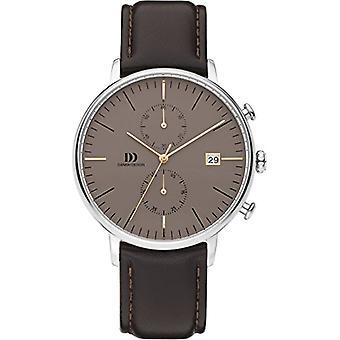 Danish Designs DZ120578-wrist watch, Man, Skin, colour: black