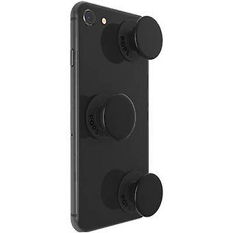 POPSOCKETS Triple Black Mobiele telefoon staan Zwart