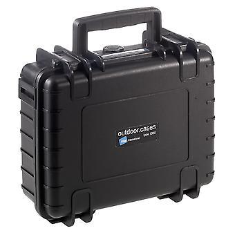B&W Outdoor Case Typ 1000, Facheinteilung, Schwarz
