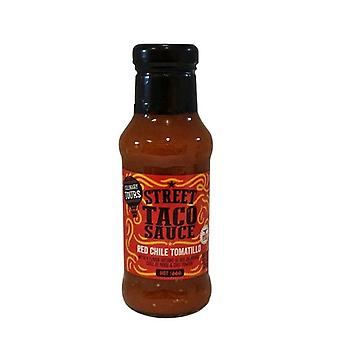 Culinary Tours Street Taco Sauce Red Chile Tomatillo