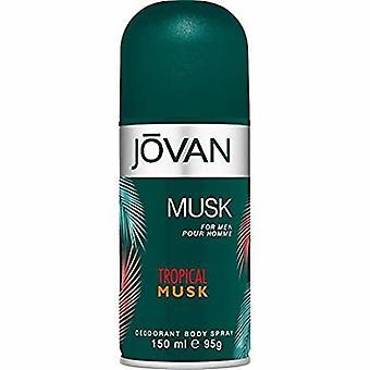 Jovan - Tropische Musk voor hem Deospray - 150ML
