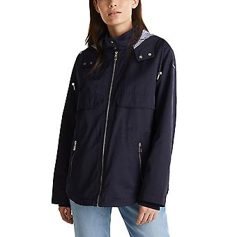 Esprit Women's Hood Short Parka Straight Fit
