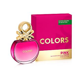 Benetton Colors For Her Pink Eau De Toilette For Her