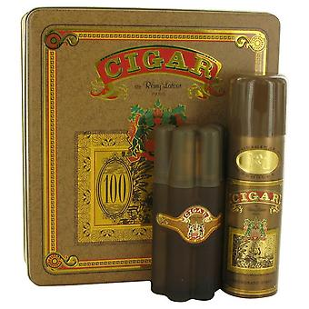 Cigar Gift Set By Remy Latour 3.3 oz Eau De Toilette Spray + 6.6 oz Deodorant