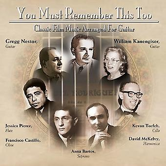 Nestor*Gregg - You Must Remember This Too: Classic Film - O.S.T. [CD] USA import