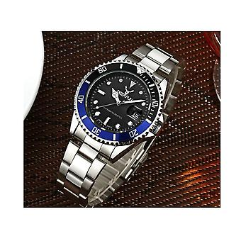 Genuine Deerfun Homage Watch Black Blue Silver Date Watches Top Quality