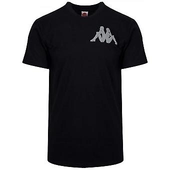 T-shirt Kappa Black Authentic Batir