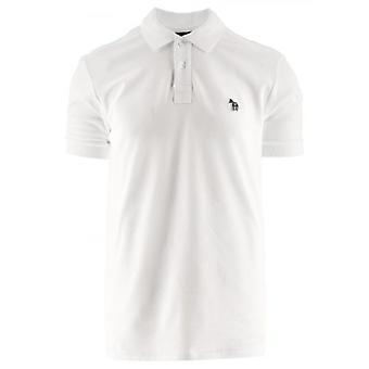 Paul Smith Branco Camisa polo de manga curta regular