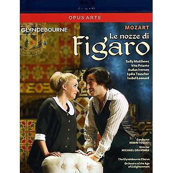 W.a. Mozart - Le Nozze Di Figaro [BLU-RAY] USA import