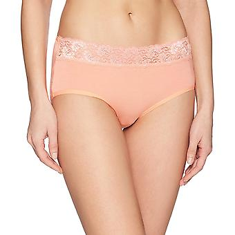 Arabella Women's Modal Lace Waistband Brief, 3 Pack, Desert Flower/Turkish Sea...