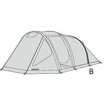 Hi-Gear Rear Air Tube for Horizon 4 Tent Natural