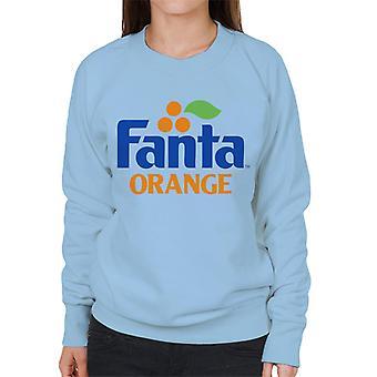 Fanta orange 1980 retro logo kvinnors Sweatshirt