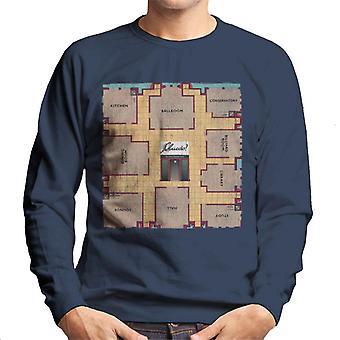 Hasbro Cluedo Retro Gameboard Herren's Sweatshirt
