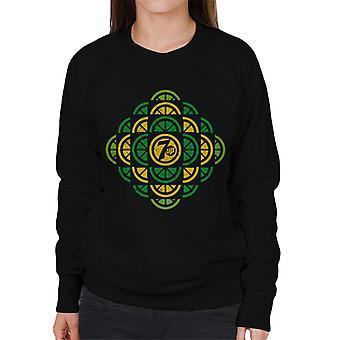 7UP Citrus Pattern Kvinnor & Apos; s Sweatshirt