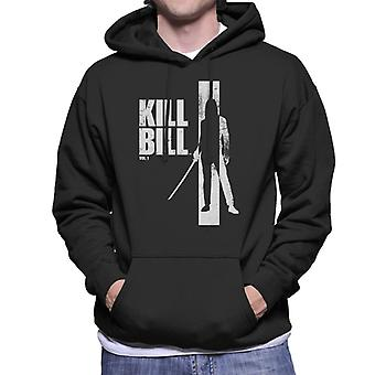 Kill Bill Beatrix Silhouette Men's Hooded Sweatshirt