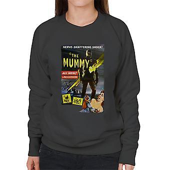 Hammer Horror Films Mummy Nerve Shattering Shock Women's Sweatshirt