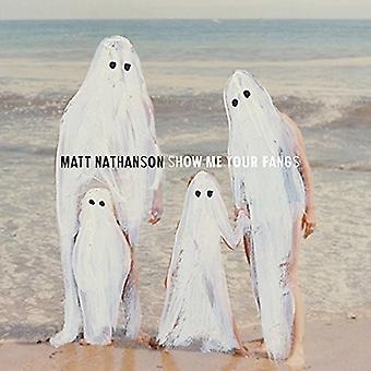 Matt Nathanson - Show Me Your Fangs [CD] USA import