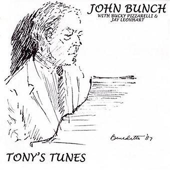 John Bunch - Tony;S Tunes [CD] USA import