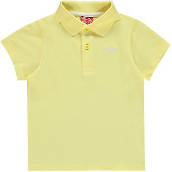 Slazenger Plain Polo Shirt Spædbarn Drenge