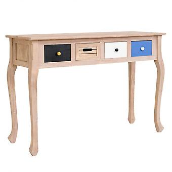 Rebecca Furniture Console Written 4 Light Wood Drawers Shabby Chic 73x110x40