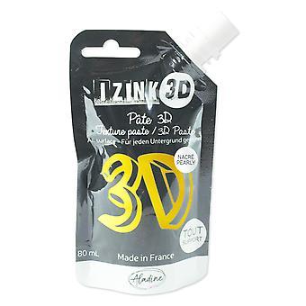 Aladine Izink 3D बनावट पेस्ट पेठा सोना (80 मिली) (85434)