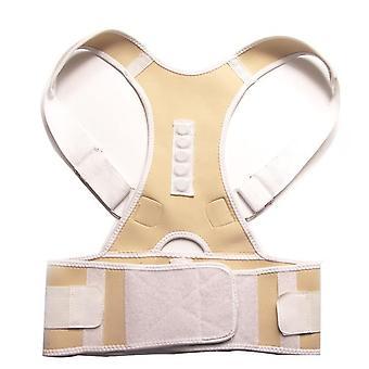Nastaviteľný a magnetický korektor držanie tela - korzet zadný pás/ženy